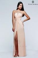 Faviana 7529 Illusion Evening Dress image