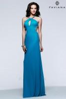 Faviana 7530 High Neck Evening Dress image