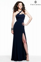 Faviana 7539 Jersey Illusion Evening Dress image