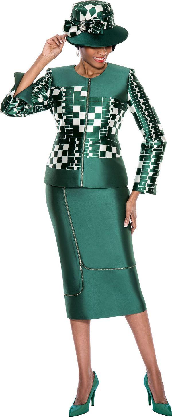 Terramina 7555 Womens Church Suit French Novelty