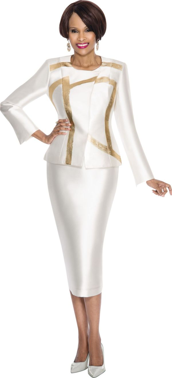 Terramina 7556 womens striking church suit french novelty for Immediate resource wedding dresses