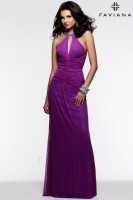 Faviana 7557 Evening Dress with Beading image