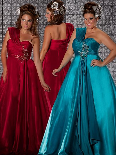 Fabulouss Flattering Plus Size Prom Ball Gown By Macduggal 76156f