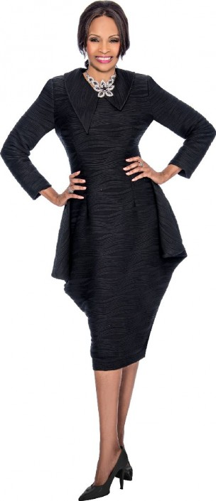 828e82c6c7 Terramina 7628 Long Sleeve Church Dress  French Novelty