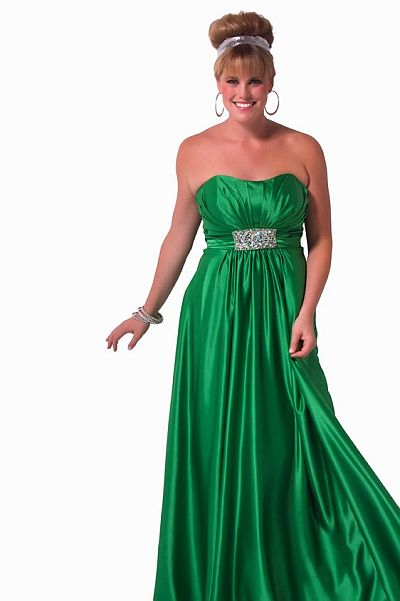 Cassandra Stone II Simple and Elegant Plus Size Prom Dress 76285K ...