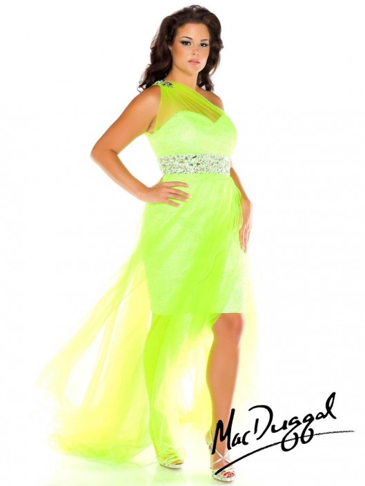 Mac Duggal Fabulouss 76631F High Low Plus Size Party Dress: French ...