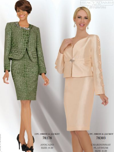 Stacy Adams Womens Brocade Church Suit 78178 by BenMarc: French ...
