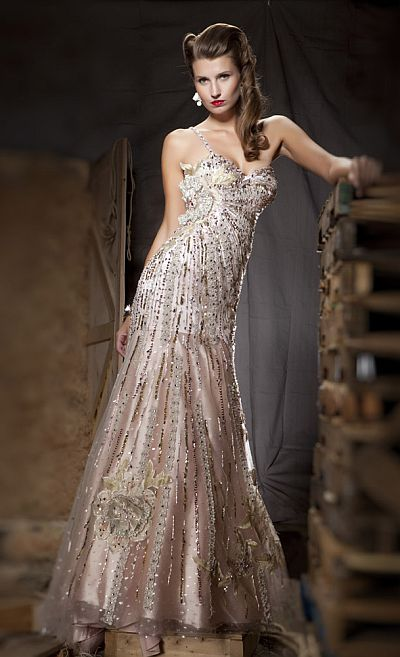 MacDuggal Couture Festive Whimsical Evening Dress 78431D: French ...