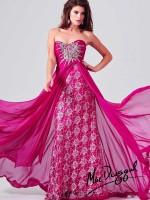 Mac Duggal 78437M Sunburst Beaded Gown image