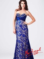 Mac Duggal 78439M Ruched Empire Evening Dress image
