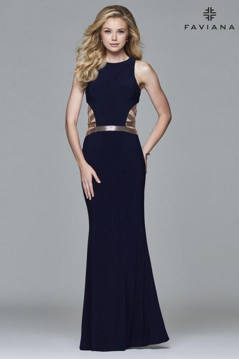 Faviana 7912 Sassy Prom Dress: French Novelty