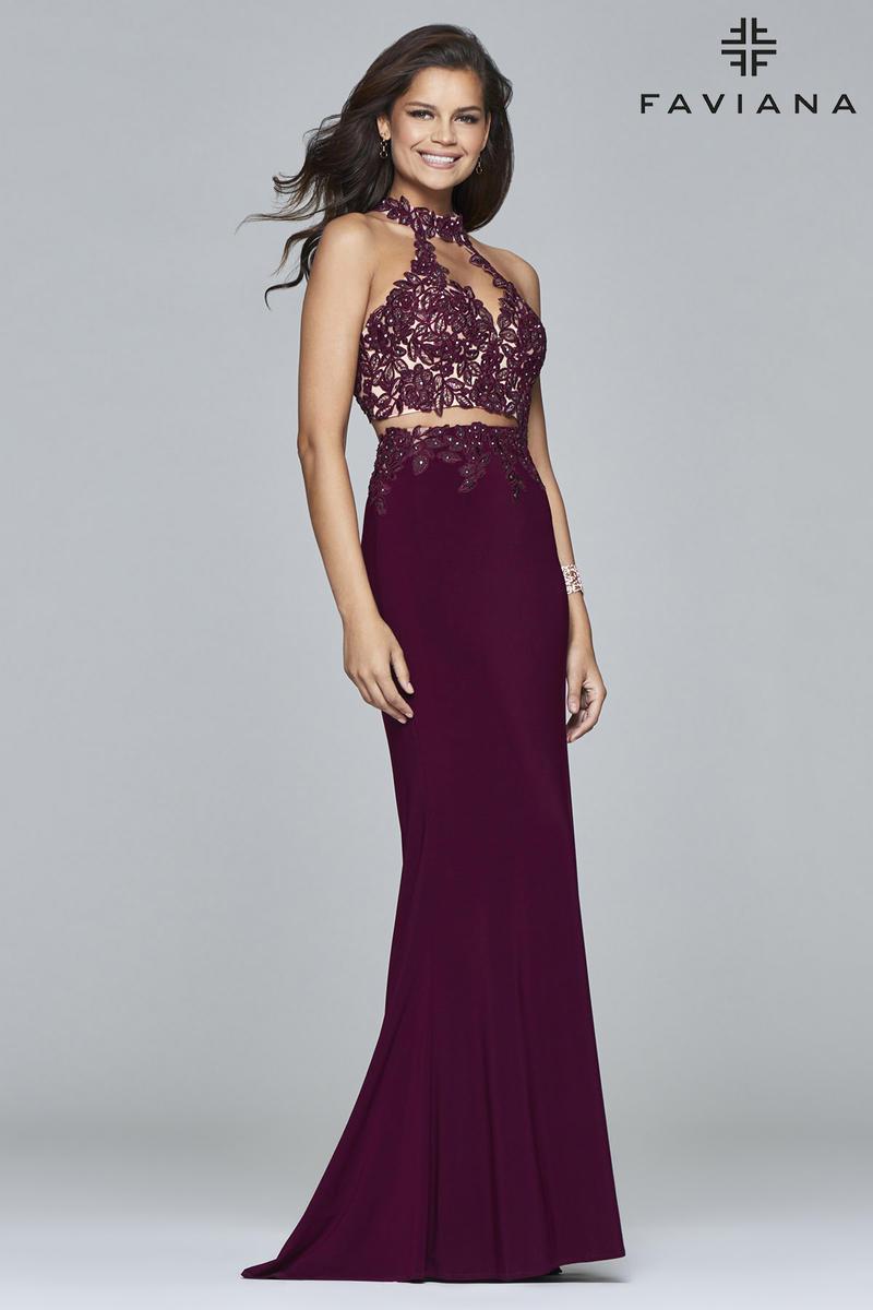 Faviana 7967 Alluring 2pc Prom Dress: French Novelty - photo #14