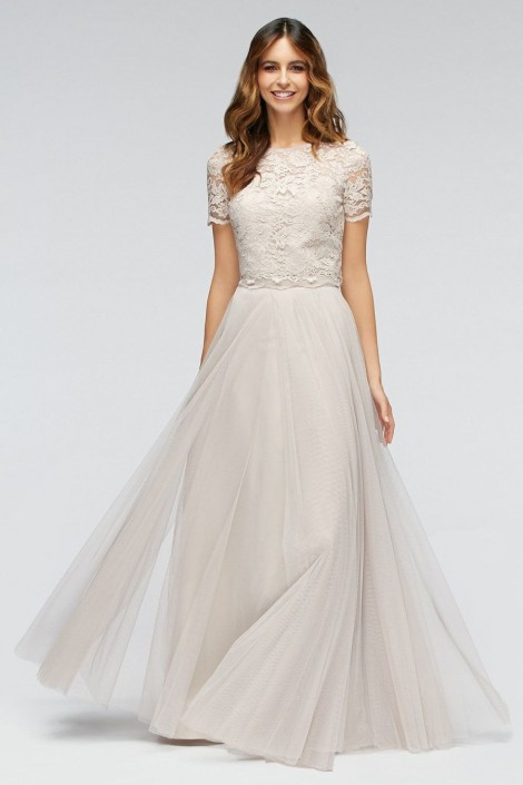 Watters 80200 Fleur Lace Separate Bridesmaid Top