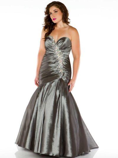 Candra Stone Ii 81846k Plus Size Mermaid Dress