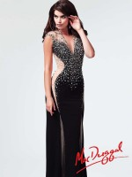 Mac Duggal 82019M Deep V Evening Dress image