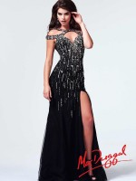 Mac Duggal 82027M Double Strap Evening Dress image