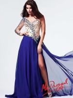 Mac Duggal 82028M Colorful Beaded Long Dress image