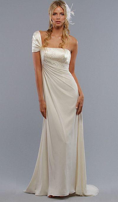 Liz Fields Destination Wedding Dress 8270 French Novelty