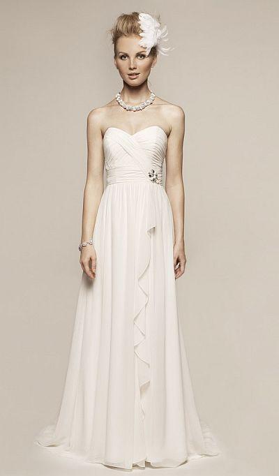 Liz fields destination beach wedding dress 8360 french for Immediate resource wedding dresses