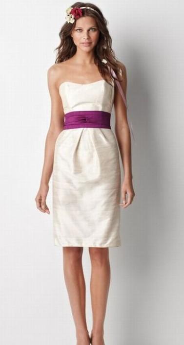 Silk Dupioni Bridesmaid Dresses - Ocodea.com
