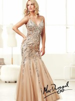 Mac Duggal 85250M Spaghetti Strap Mermaid Dress image