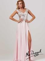 Mac Duggal 85301M Low Back Evening Dress image