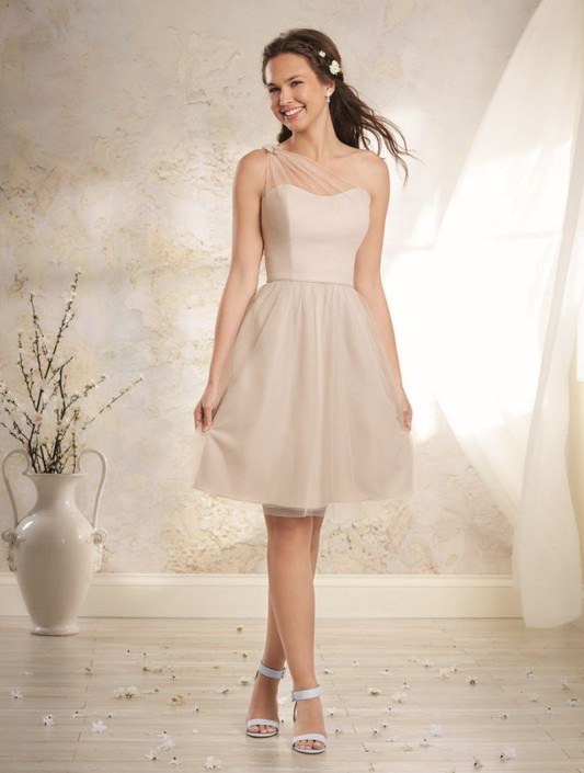 Alfred Angelo Modern Vintage 8632s Short Bridesmaid Dress
