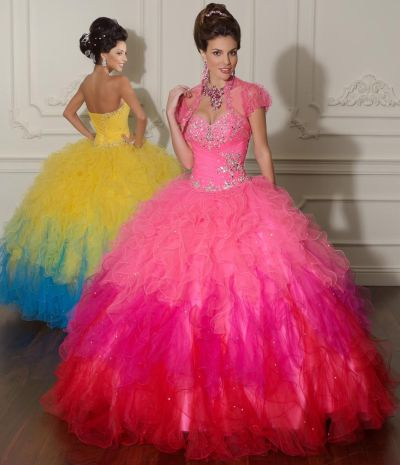 f67896d563 Vizcaya Two Tone Tulle Quinceanera Dress by Mori Lee 88013  French Novelty