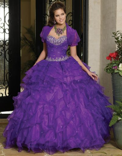 Vizcaya 88031 Quinceanera Dress with Removable Skirt: French Novelty