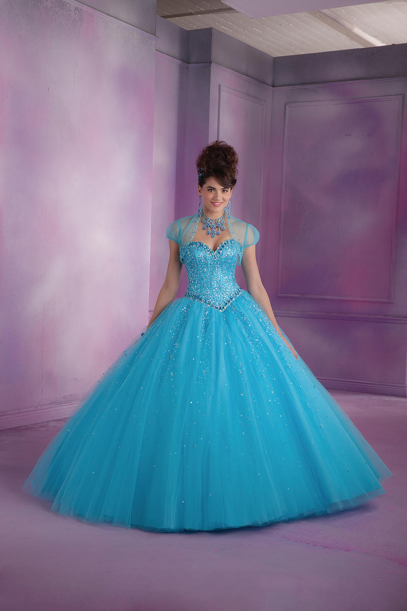 Vizcaya 89007 Quinceanera Ball Gown French Novelty