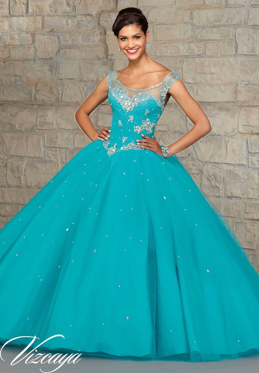 497c514e5ad Quinceanera Dresses Mint Blue