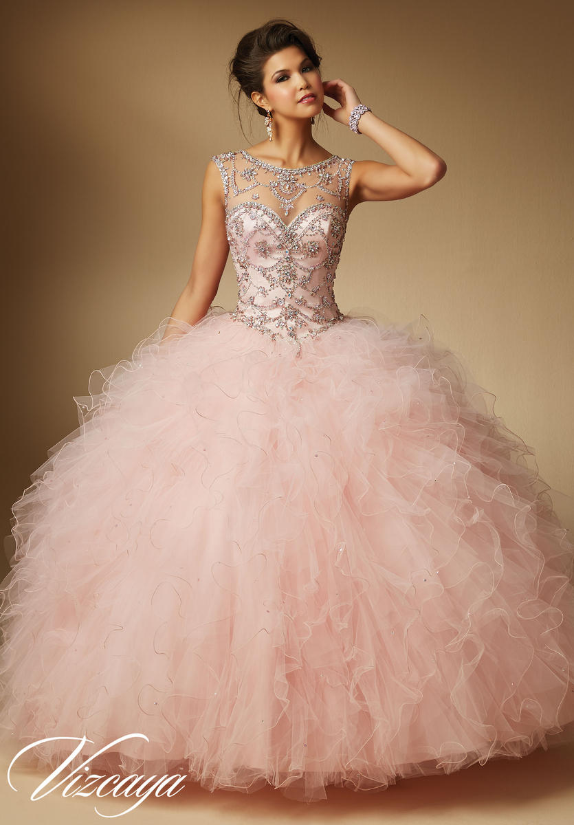 Vizcaya 89041 Jeweled Quinceanera Dress French Novelty