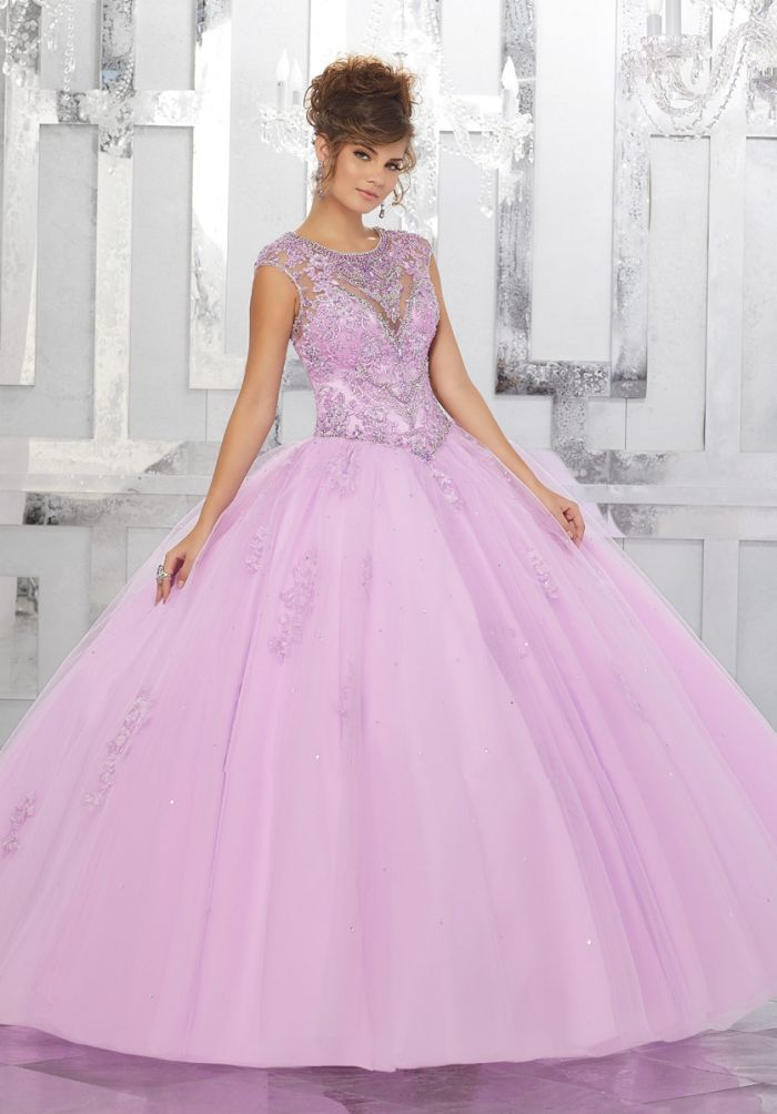 Vizcaya 89147 Gorgeous Quinceanera Dress And Stole French