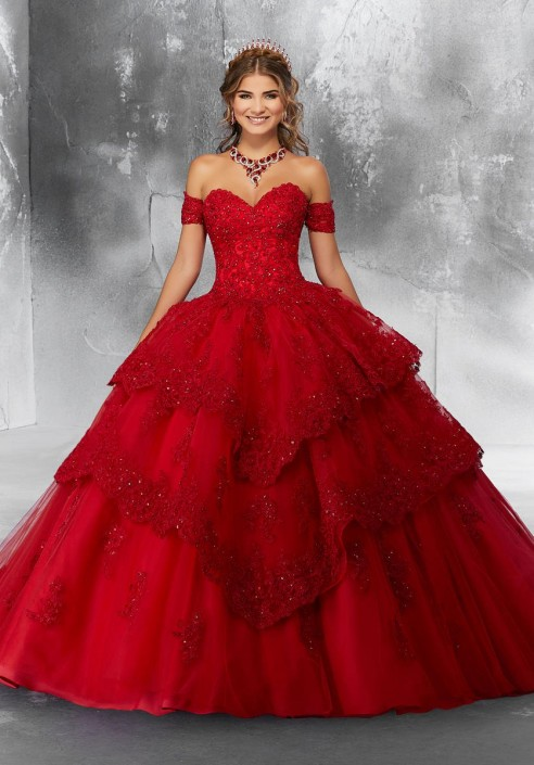 f0de15bb75b Source https   www.frenchnovelty.com vizcaya-89190-tiered-quince-dress -with-detachable-sleeves