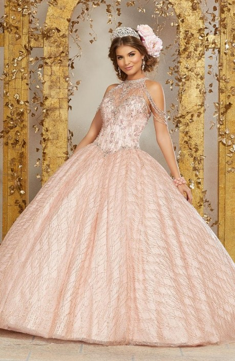 abaab4547 Vizcaya 89221 Chandelier Sleeve Quinceanera Dress French Novelty
