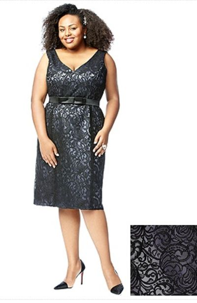 Lovelie 9007 Plus Size Short Lace Bridesmaid Dress French Novelty