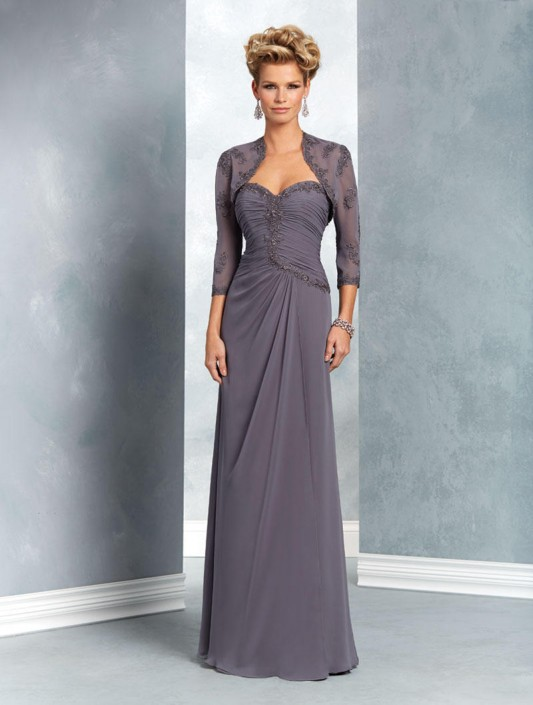 Alfred Angelo 9051 Mothers Gown With Bolero