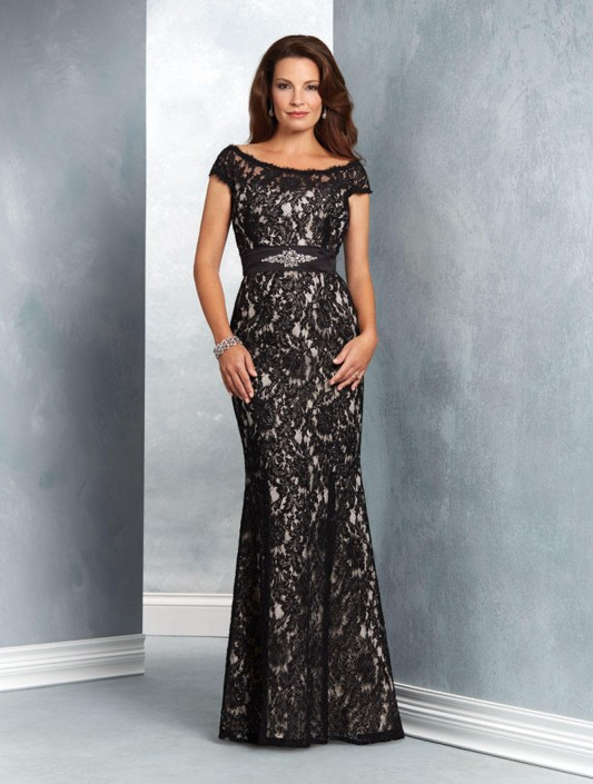Alfred Angelo 9055 Lace Mother Of The Bride Dress