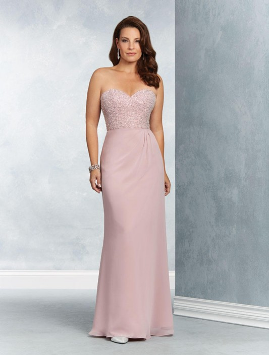 Alfred Angelo 9056 Mother of the Bride Gown: French Novelty