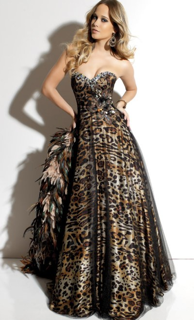 Animal Print Prom Dresses 2012 Paparazzi Prom Dress 91031: French ...