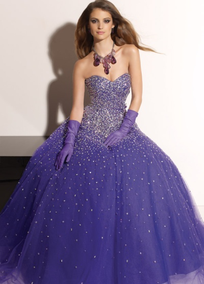 2012 Prom Dresses Paparazzi Ball Gown 91058 by Mori Lee: French ...