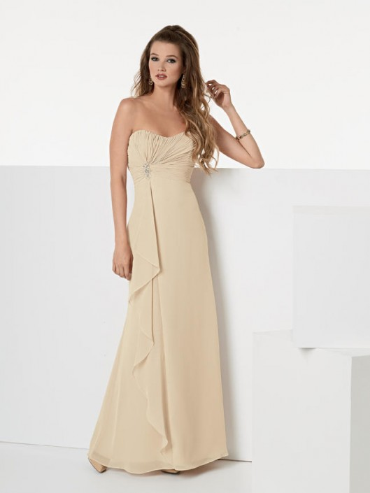 Size 10 Cashmere Jordan 940F Draped Empire Bridesmaid Gown: French ...