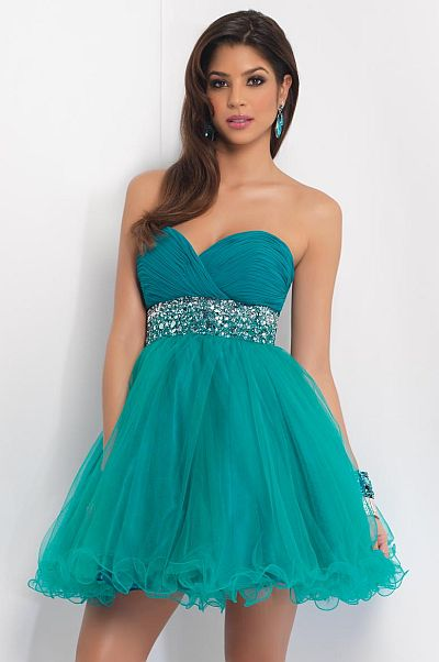 Blush Prom Homecoming Dress 9401: French Novelty