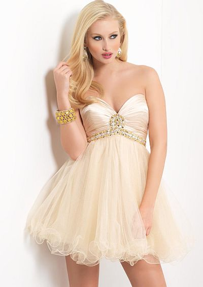 Homecoming Dresses 2012 Blush Prom 9405 French Novelty