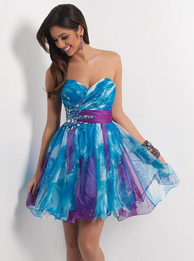 Blush Prom Homecoming Dress 9412: French Novelty