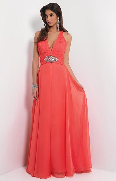Blush Prom Long Homecoming Dress 9425 French Novelty