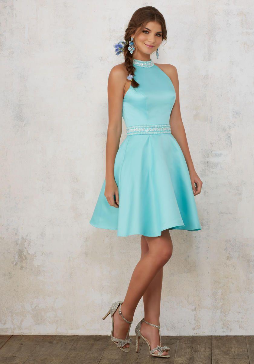 Blush Halter Dress