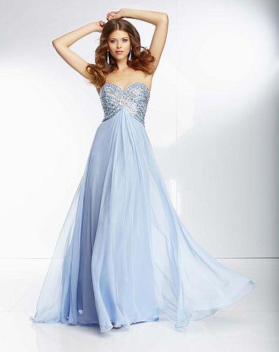 Mori Lee 95057 Paparazzi Bra Back Evening Dress: French Novelty