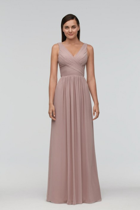 0809ab288a Watters 9543 Susan Timeless Bridesmaid Gown  French Novelty