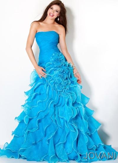 Chiffon Dark Turquoise Bluewedding Dressesbridesmaid Dresses ...